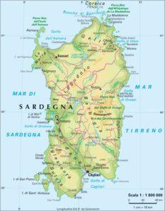 Cartina Montuosa Sardegna.Superficie Sardegna Quant E Grande L Isola Sarda E Quali Sono Le Caratteristiche Del Territorio Sardegnapolis